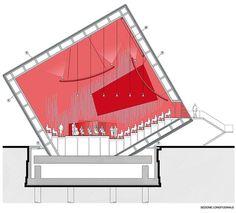 Temporary Auditorium in L'Aquila Italy By: Renzo Piano