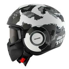 Ministry of Bikes - Shark Raw Helmet Kurtz Matt WSA, £209.99 (http://www.ministryofbikes.co.uk/shark/helmets/raw/shark-raw-helmet-kurtz-matt-wsa.html/)