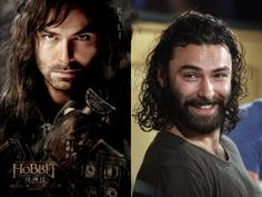 """In the Hobbit movie, Kili is brothers with Fili and is played by Aidan Turner.  (A.K.A. """"The hot dwarf""""!!)"""