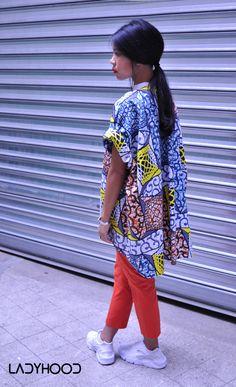 Kimono LADYHOOD African Print Top www.ladyhood.fr