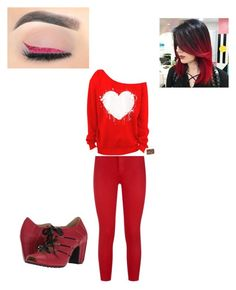 """Untitled #12"" by brynn-kicherer ❤ liked on Polyvore featuring L'Agence and Fly LONDON"
