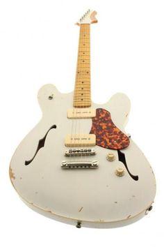 Fano Alt De Facto (GF6) White Guitar