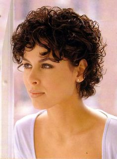 Page 08 - Short c - Short Hair Styles Short Curly Hairstyles For Women, Curly Hair With Bangs, Haircuts For Curly Hair, Curly Hair Cuts, Short Hair Cuts For Women, Hairstyles With Bangs, Curly Hair Styles, Thin Hair, Pixie Haircuts