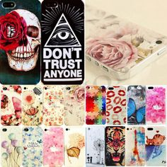 Hot Phone Various Painted Pattern Hard Skin Case Cover for Apple IPhone4 4S 5 5S