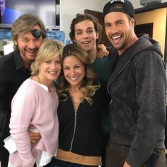 """""""I am so happy to have my old #ATWT cast mate Marie Wilson join us! What a talent and beauty inside and out!"""" #daysofourlives #dool #days"""
