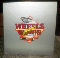 Vintage (1988) RARE! Wheels & Wings 7x10 data and photo cards in 3-ring binder published by Field Publications and printed in the USA.