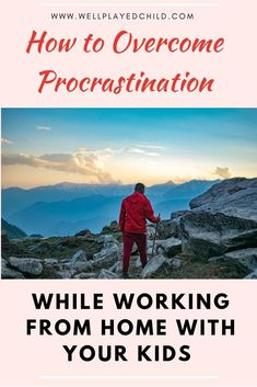 Easy ways to overcome procrastination while working from home. Even moms with multiple kids can try this. Mindful Parenting, Natural Parenting, Parenting Books, Gentle Parenting, Parenting Advice, Entrepreneur, Work From Home Tips, Business Motivation, Business Tips