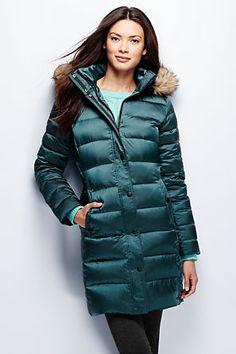 f9a1ca13f461 Women's Shimmer Down Coat from Lands' End Winter Vest, Winter Jackets,  Winter Coats