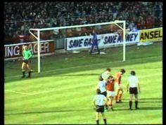 Notts Forest v Man Utd 1980/81 Division One