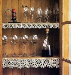 Bordures d'étagères et leurs grilles gratuites , au Crochet ! - Crochet Passion