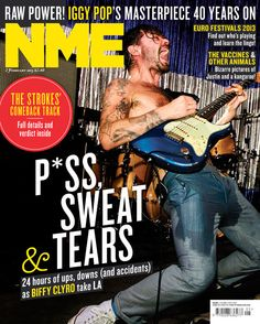 NME Magazine cover, Biffy Clyro, February 2nd 2013 Nme Magazine, Magazine Covers, Biffy Clyro, Bizarre Pictures, The Strokes, Iggy Pop, Soundtrack To My Life, My Music, Comebacks