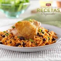 Arroz y Frijoles con Pollo Hunt