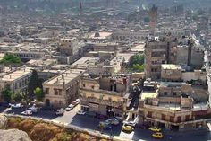 Send picture of View over Aleppo from Syria as a free postcard