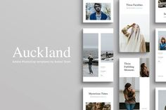 Auckland Instagram Stories by Ruben Stom on @creativemarket
