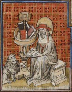 « La Legende dorée » [de JACQUES DE VORAGINE], traduction [de JEAN DE VIGNAY]  Date d'édition :  1404  Français 414   Folio 321v