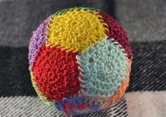 crochet stress ball free pattern