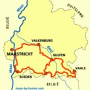 Het Krijtlandpad biedt wandelaars alles wat het Zuid-Limburgse Heuvelland zo aantrekkelijk maakt. Natuurlijk het krijt van het Mergellandplateau, maar ook de glooiende weiden, de boomgaarden, de Geul en de Gulp. En niet te vergeten de wegkruisen, de kapelletjes, de vakwerkhuizen, de gastvrije pensions, de vlaaien en het bier.