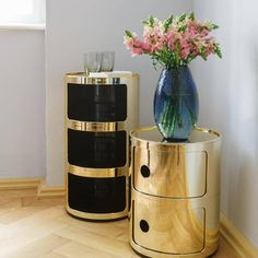 »Kartell Look« | Container Componibile, Vase Vitrum