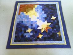 My first wall quilt!  Thank you, Maria!  http://www.etsy.com/shop/charmingprints?ref=seller_info