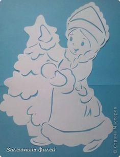 Новогодние Вытынанки шаблоны трафареты снежинки   ВКонтакте