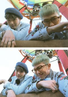 Suga & Rap Monster 'Young Forever' scan © SUGARY FLAVOUR | Do not edit.