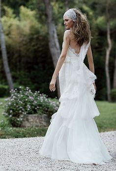 Alberta Ferretti dress, price upon request For information: albertaferretti.com