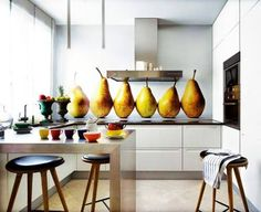 Why not add some *Pear-sonality* to your kitchen?