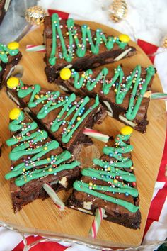 Chocolatey & Delicious Triple Chocolate Brownies in the shape of Christmas Trees – perfect for the festive season! As its soooo close to Christmas this...
