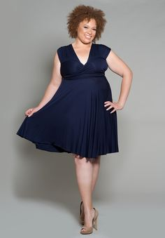 """- THE FACTS - SIZING - FREE SHIPPING + RETURNS Click Here to see the """"how-to-style"""" instructional video for this amazing plus size dress. Our best-selling Eternity maxi dress in basic black! This is o"""