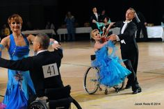 Ballroom wheelchair dance costumes