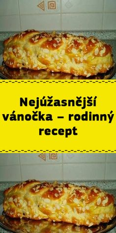 Czech Recipes, Recipies, Deserts, Food And Drink, Cooking Recipes, Sweets, Meals, Hampers, Good Ideas