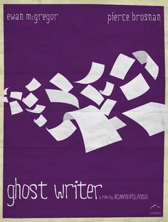 The Ghost Writer-very, very intense and well done thriller, not to mention wonderfully acted and with the beautiful backdrop of an incredible score by Alexandre Desplat.
