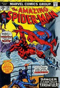 Amazing Spider-Man 134 - Tarantula - Gun - Police - Ship - Water