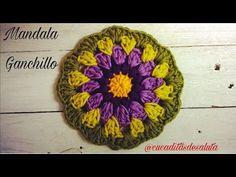 Aprende a tejer un MANDALA básico a crochet I cucaditasdesaluta - YouTube