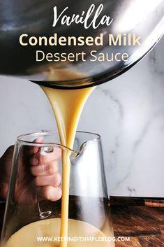 Jam Recipes, Pudding Recipes, Coffee Recipes, Other Recipes, Sauce Recipes, Dessert Sauces, Dessert Recipes, Condensed Milk Desserts, Fruit Sauce