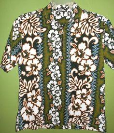 Poha Kawaii Hawaiian Shirt Mens Medium  #Hawaiian