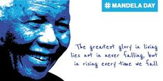 We hope you have something awesome up your sleeve for #MandelaDay today or tomorrow. #67Minutes