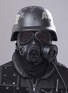Gas Mask paintball mask