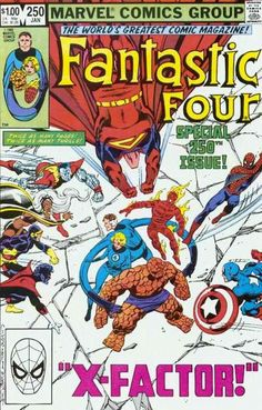 Fantastic Four # 250 by John Byrne & Terry Austin