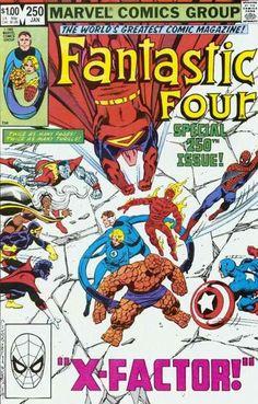 Fantastic Four # 250 by John Byrne & Terry Austin