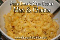 Chaos in the Condo: {Recipe} Paula Deen's Crockpot Mac & Cheese