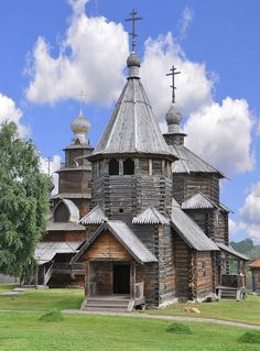 Russia. Suzdal. Wooden Church. #Russia #Suzdal #Church #architecture #culture…