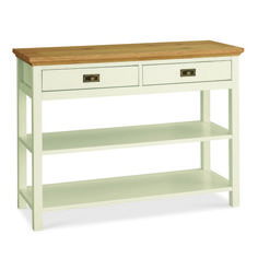 Rustic Two Tone Console Table - £175 | brandinteriors.co.uk