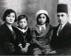 Dr Fouad Ismael Dajani and his family Jaffa