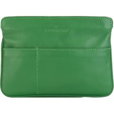 A.F.Vandevorst 161A1411 Clutch ($142) ❤ liked on Polyvore featuring bags, handbags, clutches, green, green clutches, green purse, a.f. vandevorst and green handbag