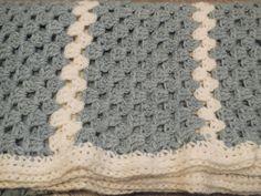 tutorial haken: babydeken granny beginner / baby blanket granny crochet beginner - YouTube