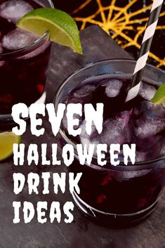 7 Easy Halloween Drink Ideas for your Spook-tacular Halloween Party.