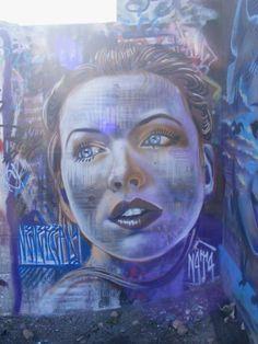 Artist :N4T4 #street art