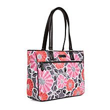 Work Tote in Cheery Blossoms with Black Trim | Vera Bradley