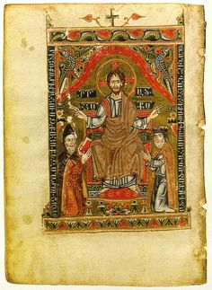 Four Gospels with Christ, Donor, and ScribeDrazark Monastery, Cilicia, 1342